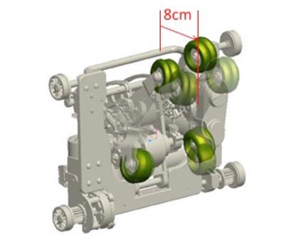 3D Masaj Tekerlekleri
